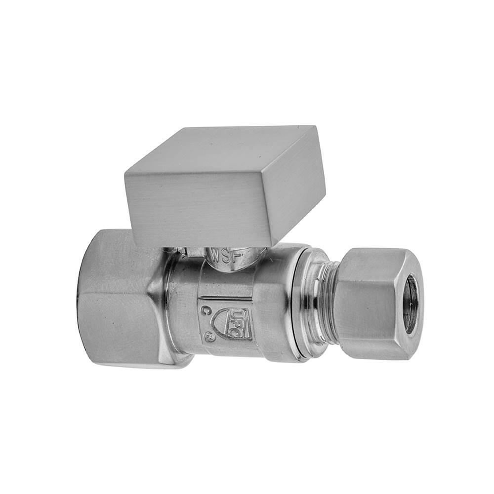 Polished Chrome 20 Jaclo 621-72-PN Quarter Turn Valve Toilet Supply Kit with Standard Cross